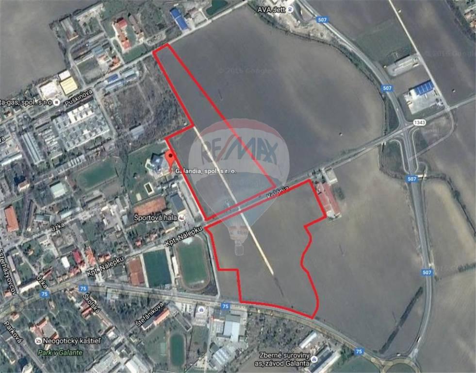 predaj pozemok na komerčnú výstavbu Galanta, Kolónia