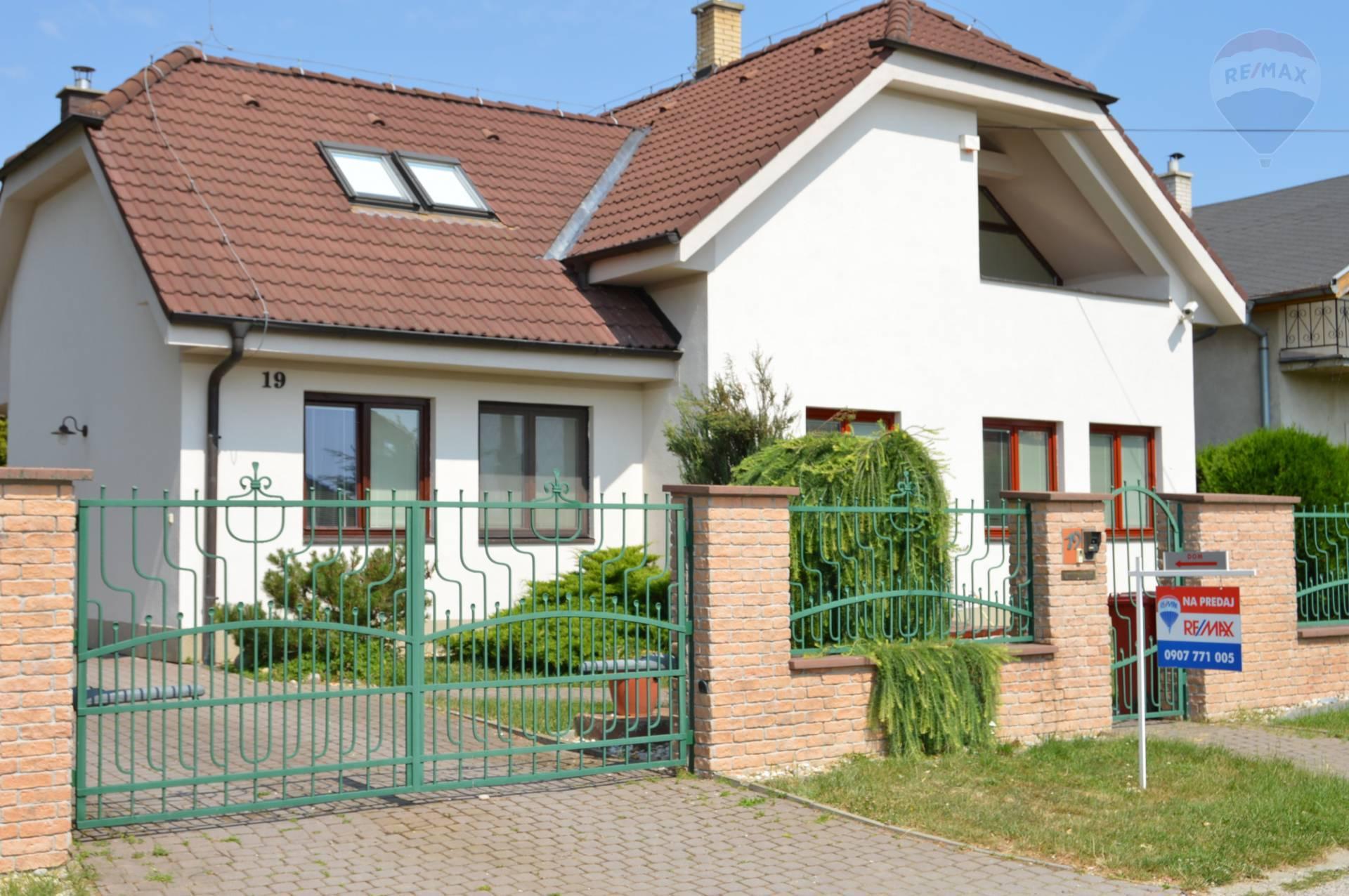 predaj rodinný dom Nitrianske Hrnčiarovce