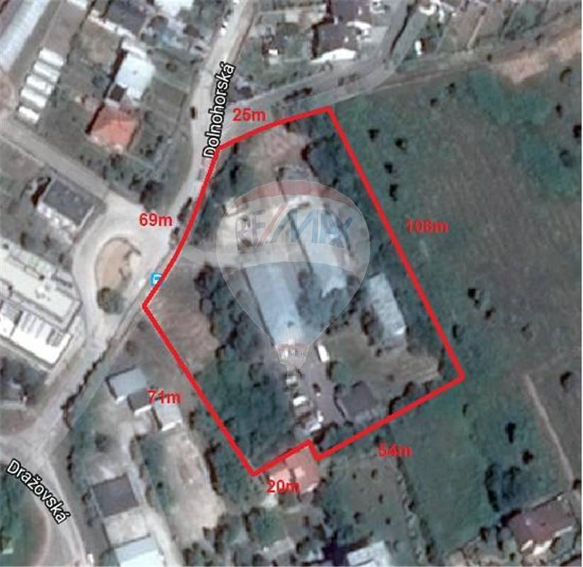 predaj stavebný pozemok Nitra, Dolnohorská