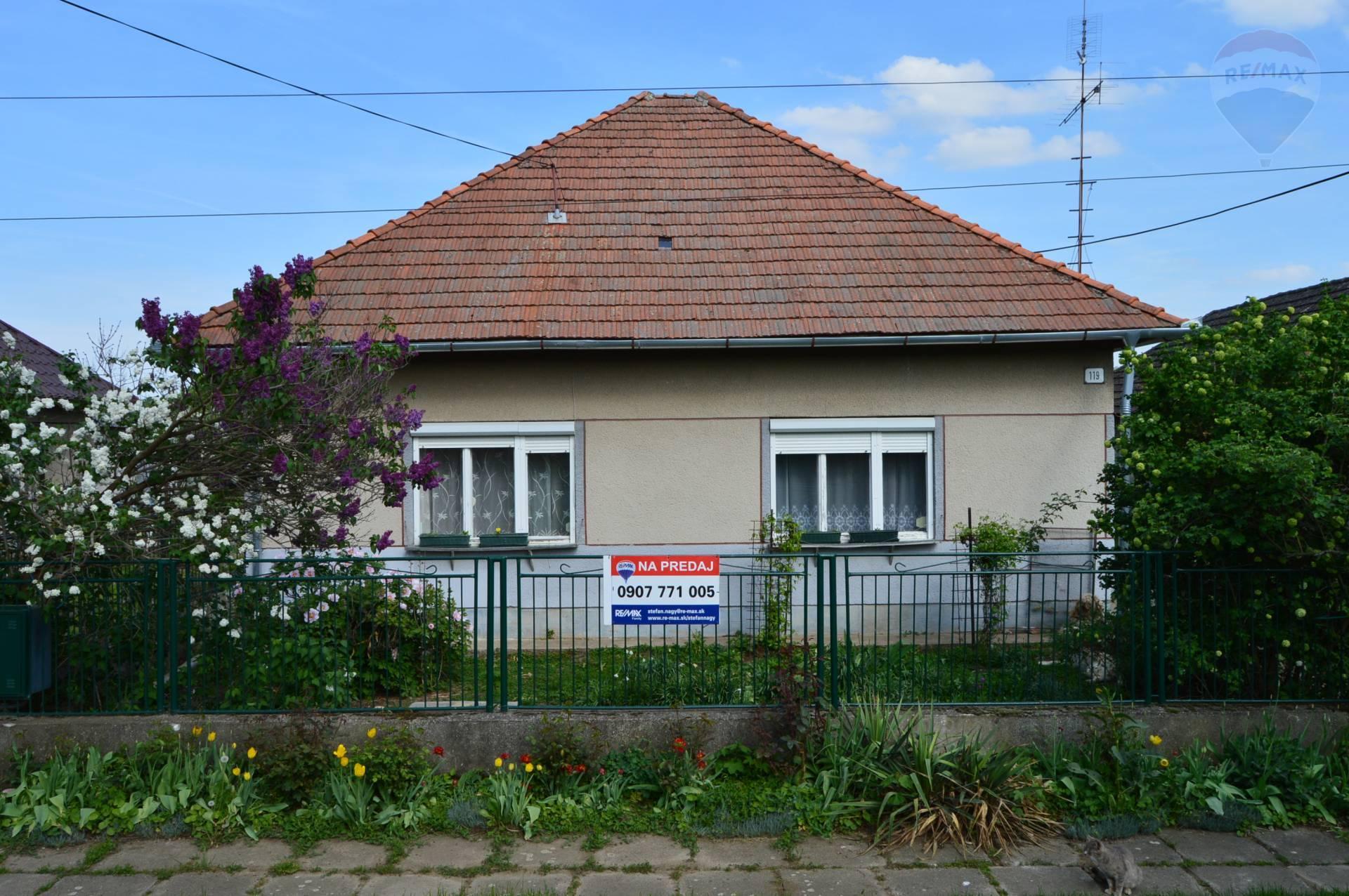 predaj rodinný dom Telince