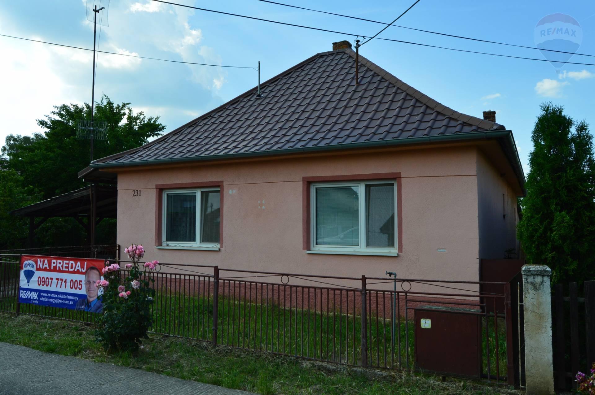 predaj rodinný dom Báb