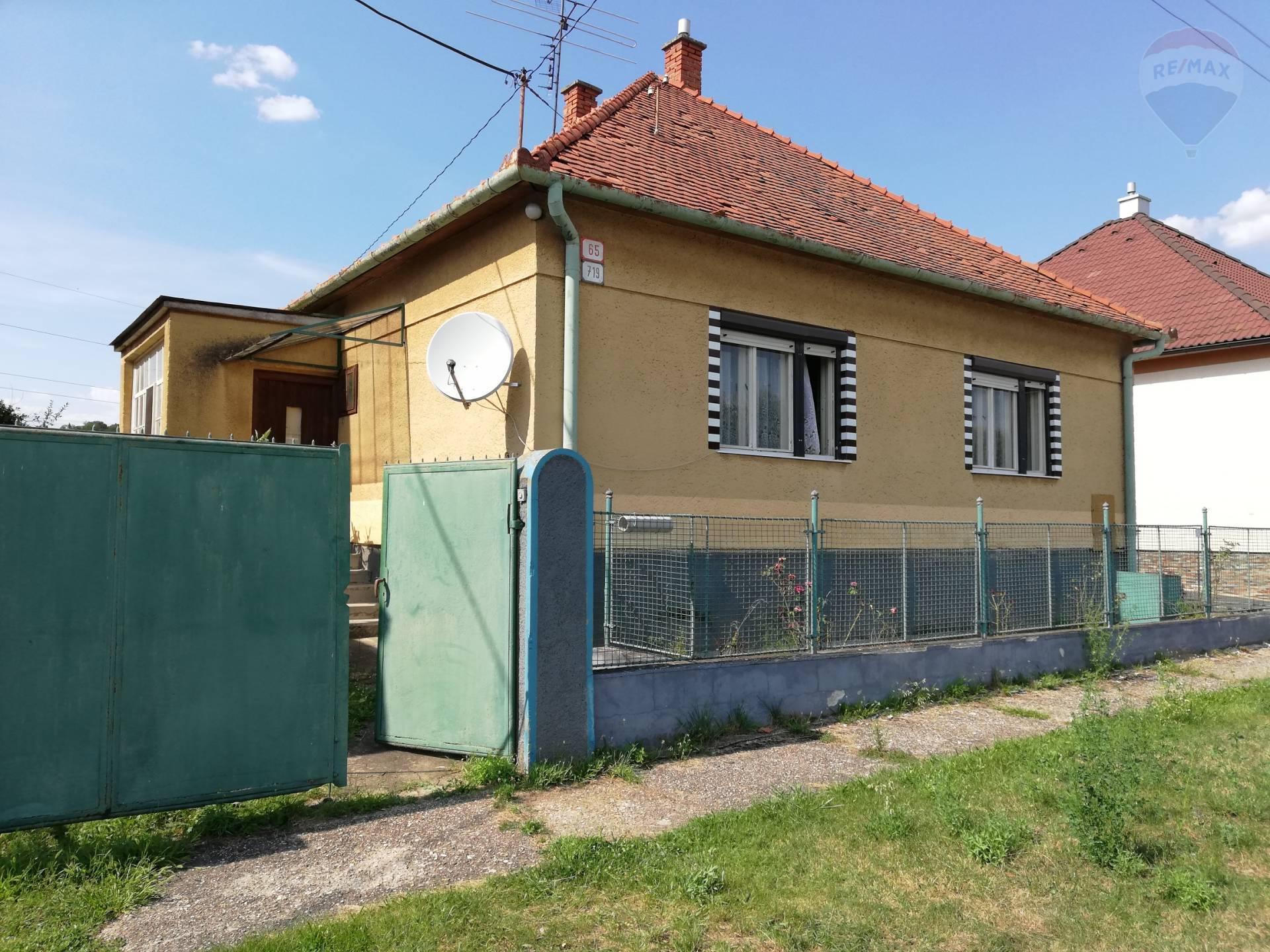 predaj rodinný dom Topoľčianky