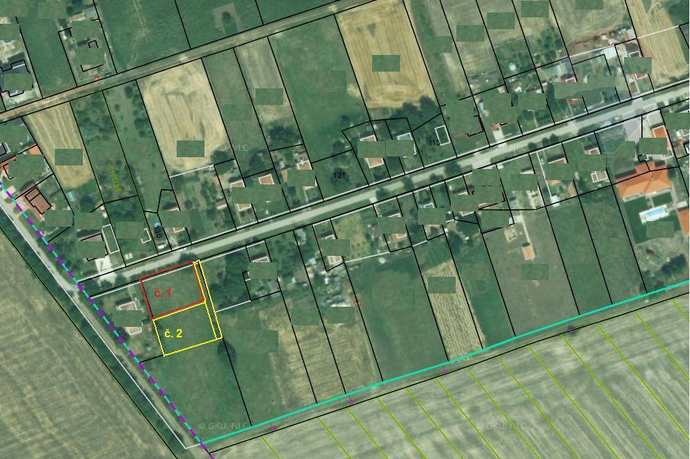 predaj pozemok na komerčnú výstavbu Rastislavice