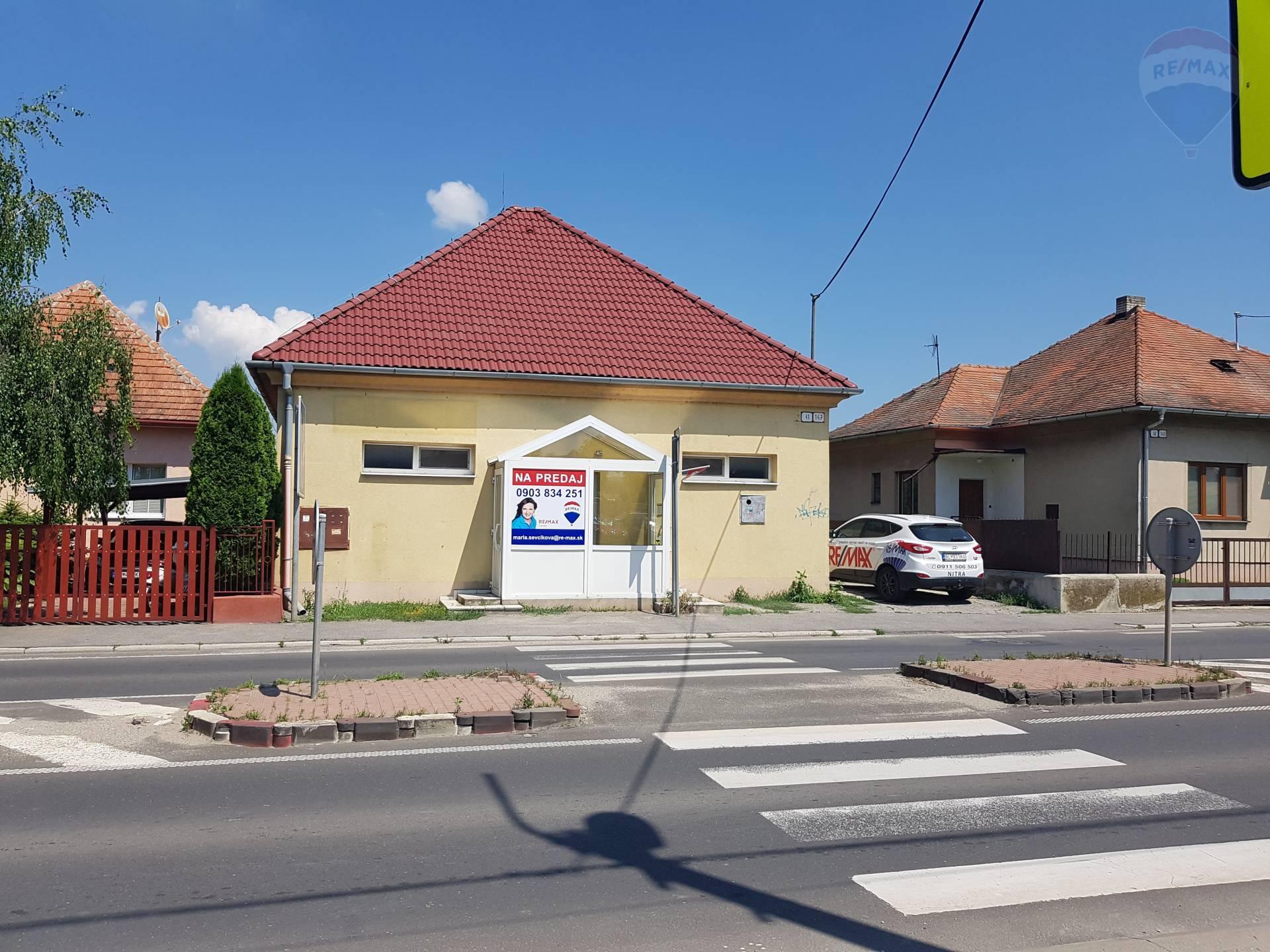 EXKLUZÍVNE! Na predaj budova s pozemkom Nitra Dolné Krškany