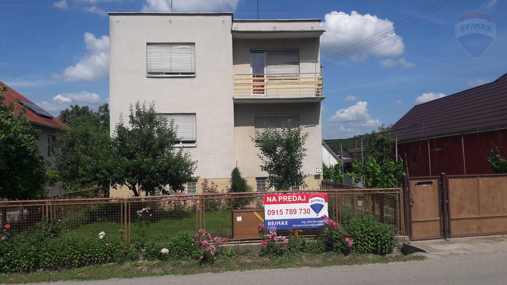 predaj rodinný dom Šurianky