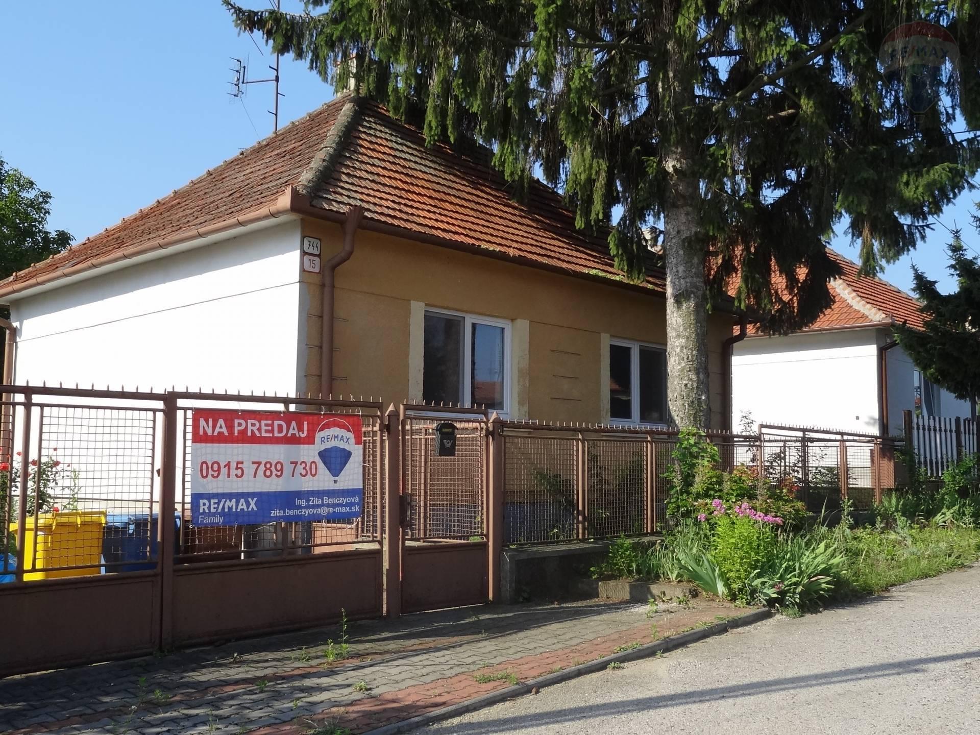 predaj rodinný dom Lužianky