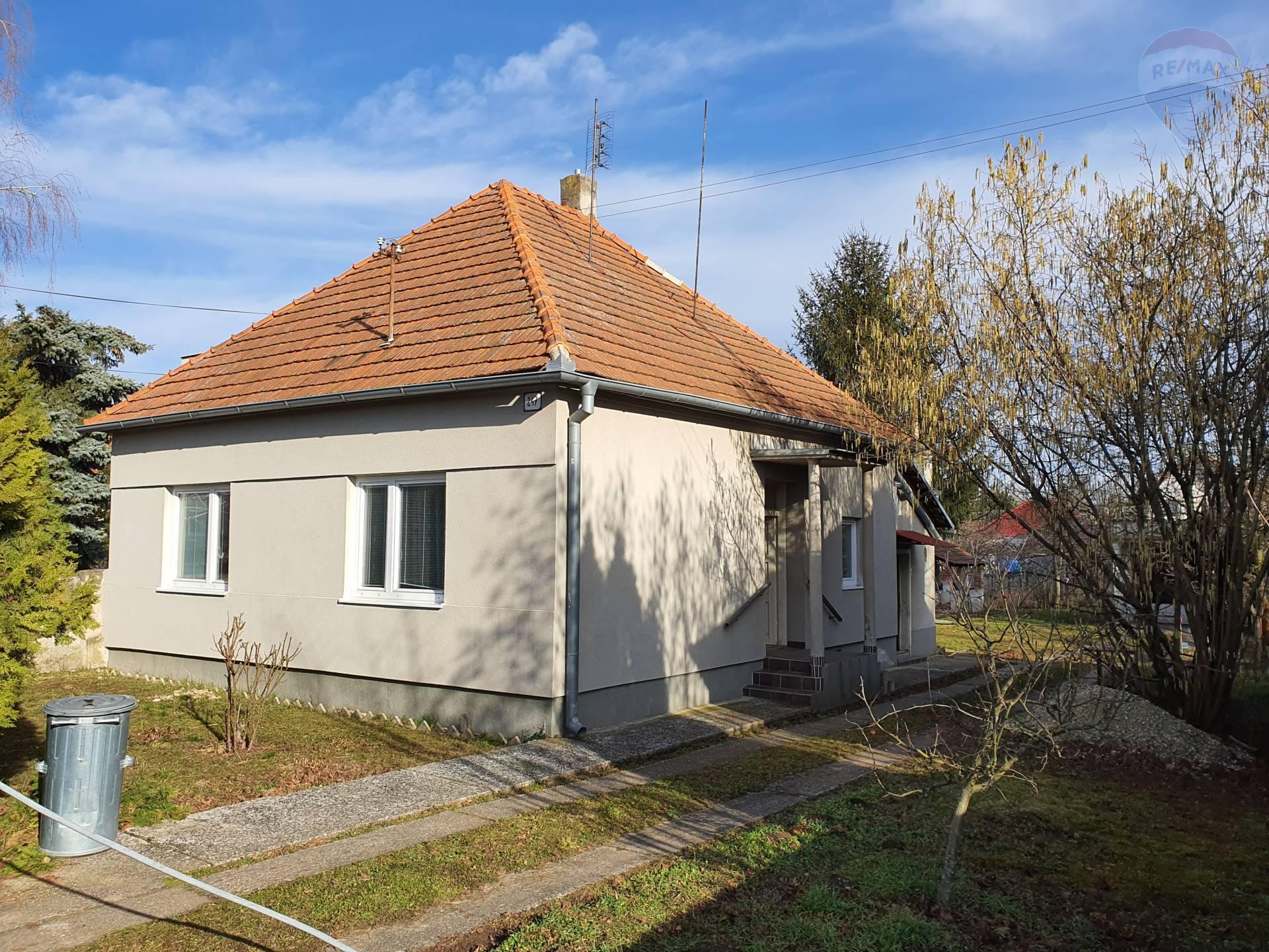predaj rodinný dom Nová Ves nad Žitavou