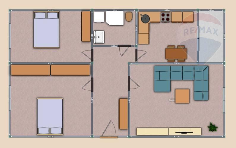 predaj 3 izbový byt Nitra, Dunajská