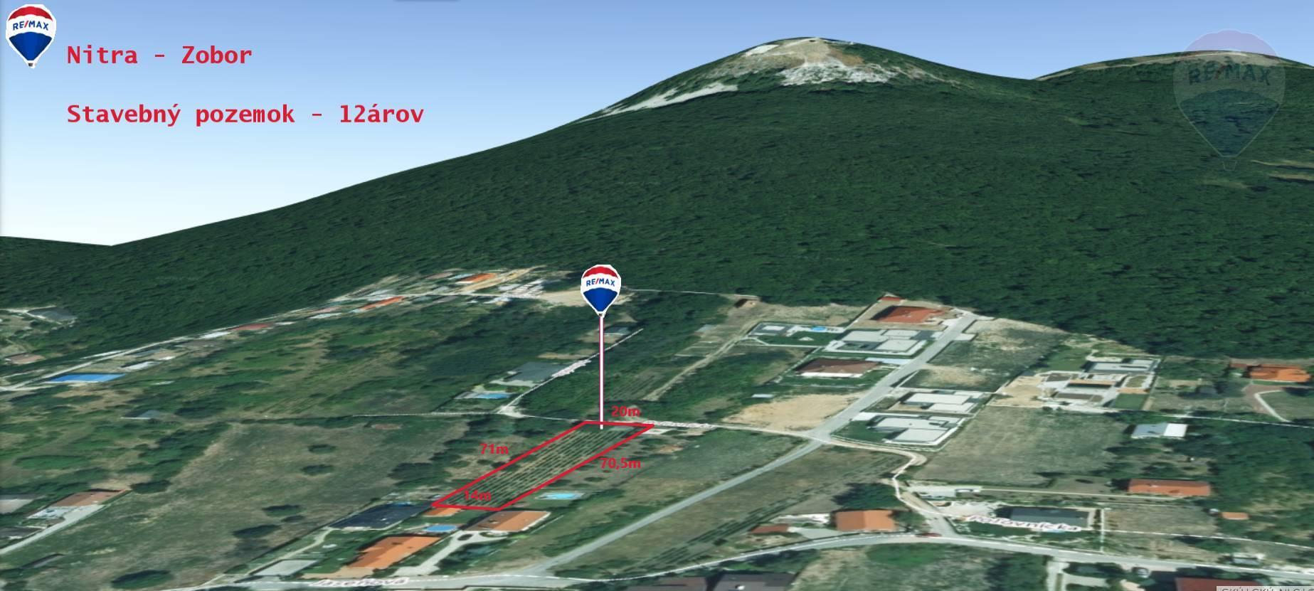 predaj stavebný pozemok Nitra, Poľovnícka