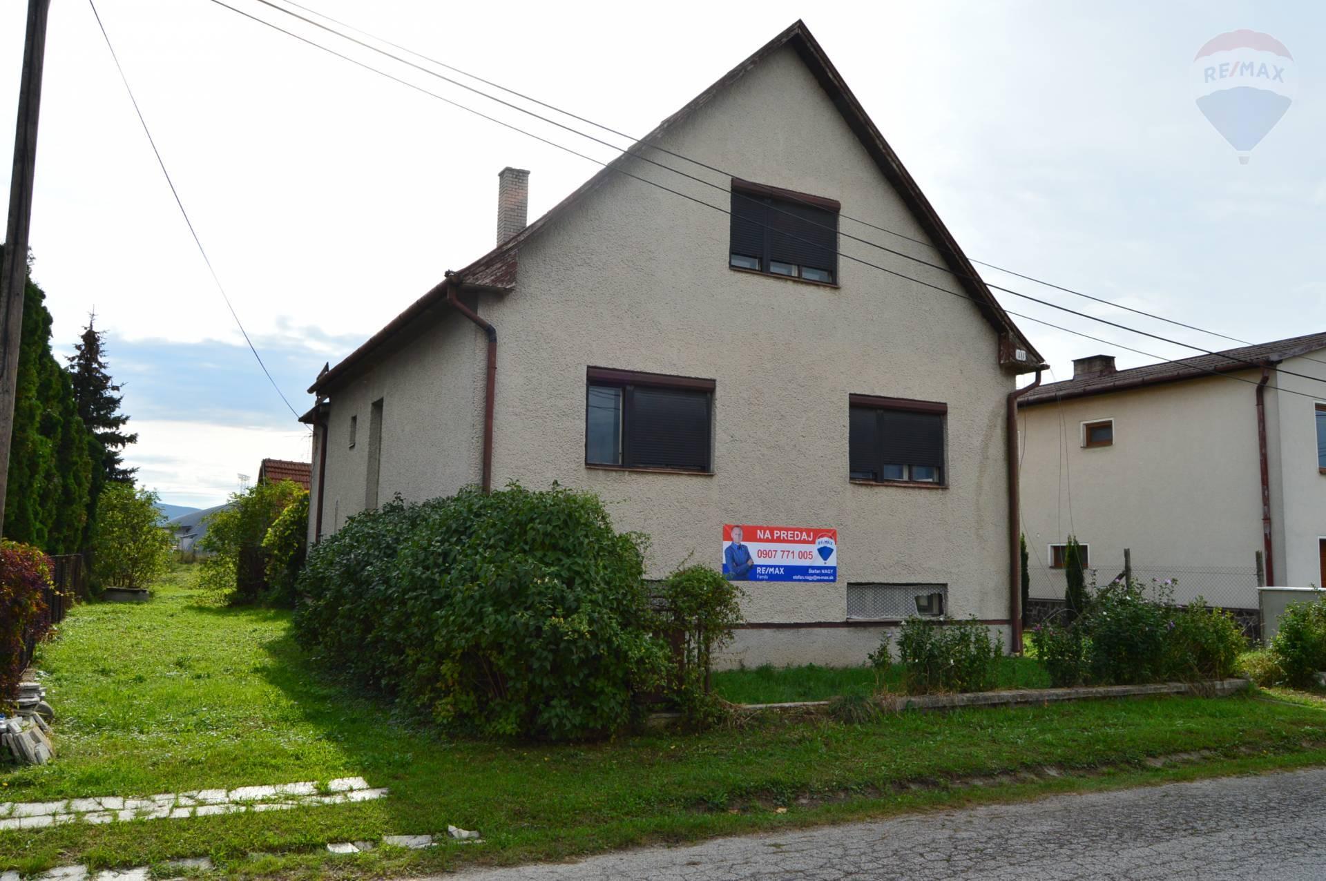 predaj rodinný dom Práznovce