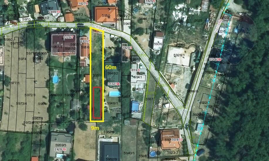 predaj stavebný pozemok Nitra, Ríbezľová