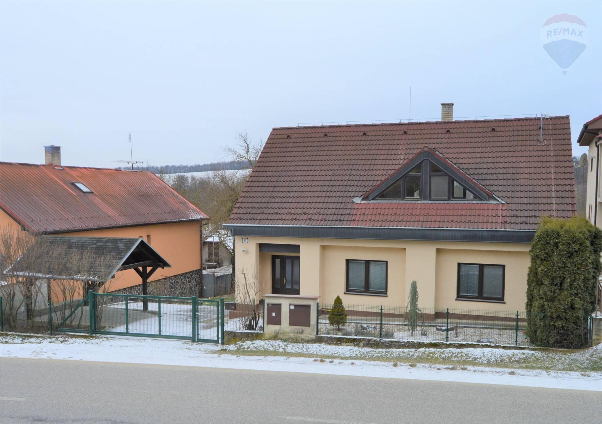 predaj rodinný dom Závada